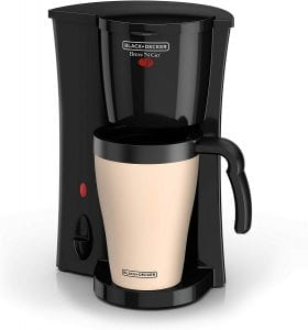 Black and decker brew-n-go personal coffee maker
